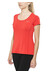 Nike Dri-FIT Contour - T-shirt course à pied - rouge